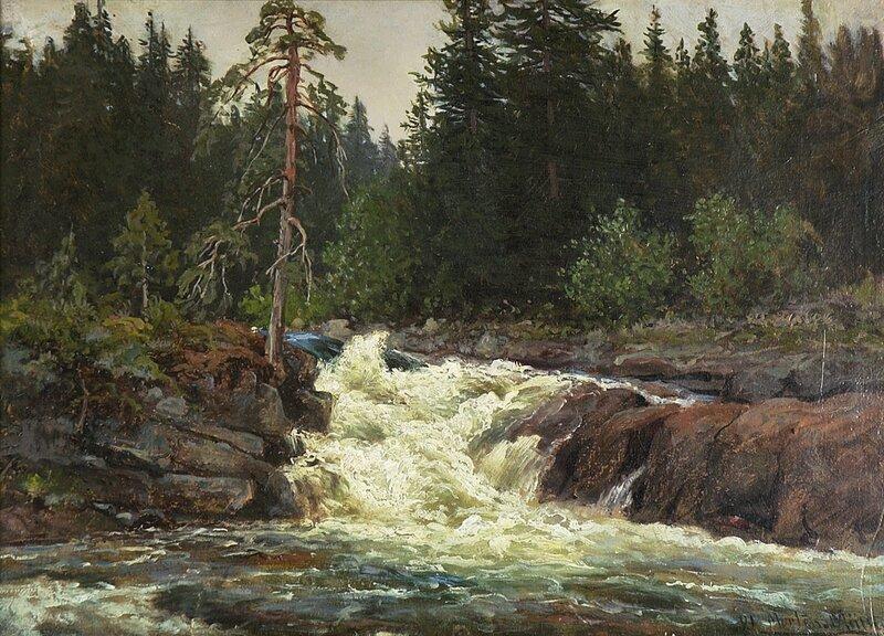 Fossestryk 1891