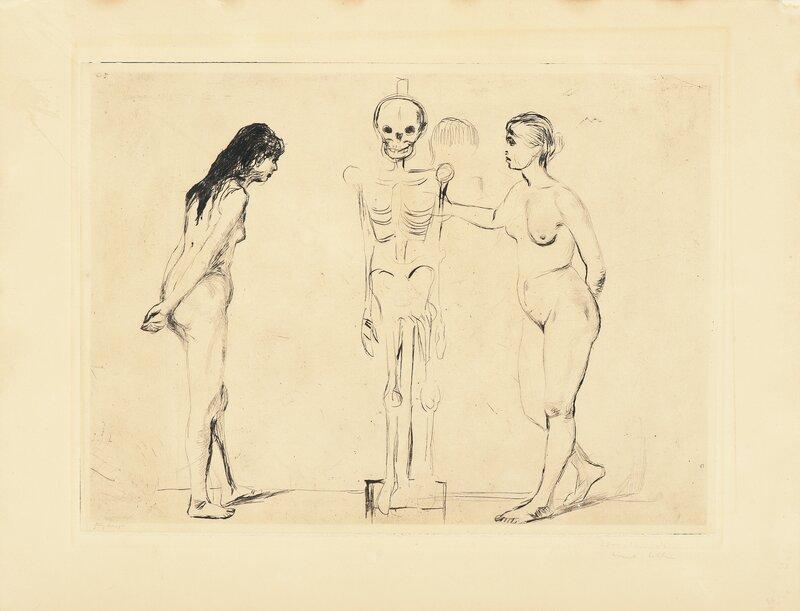 Kvinnene ved skjelettet