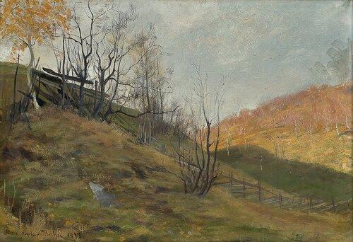 Høstlandskap 1883