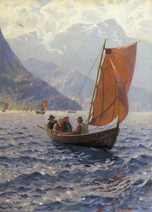 Folkeliv på fjorden