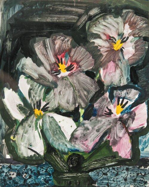 Oppstilling med blomster i vase 1939