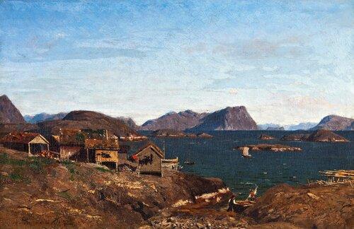 Fiskevær i Lofoten 1873