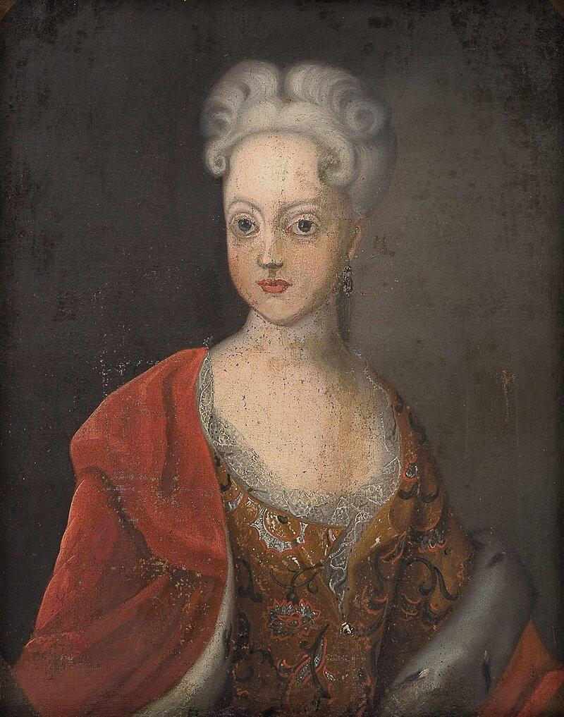 Portrett av dronning Charlotte Amalie