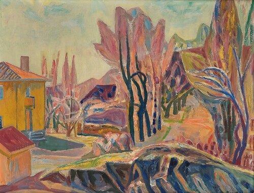 Hus i landskap 1950