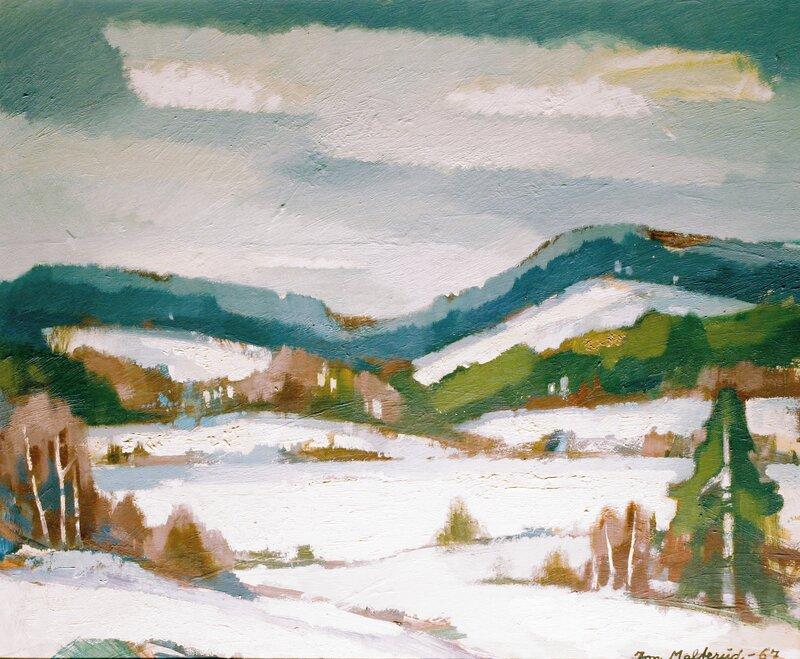 Vinterlandskap 1967