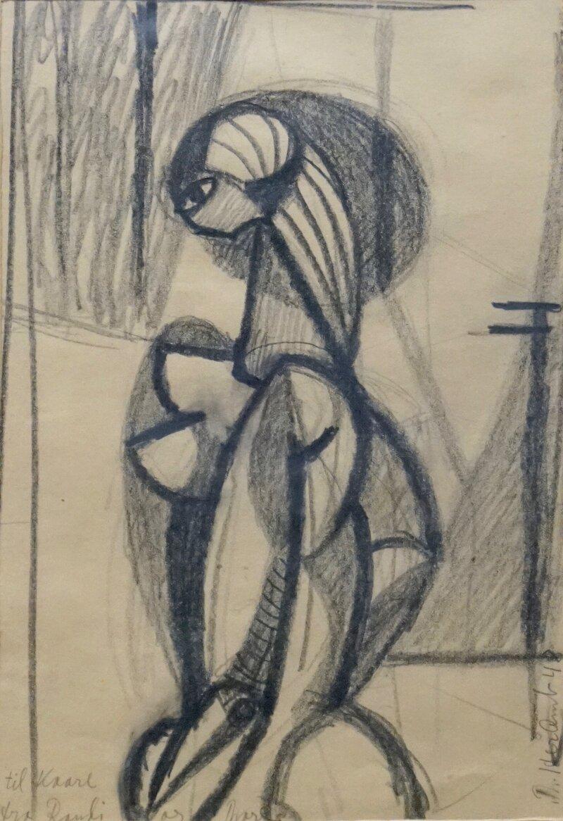 Ung kvinne 1948