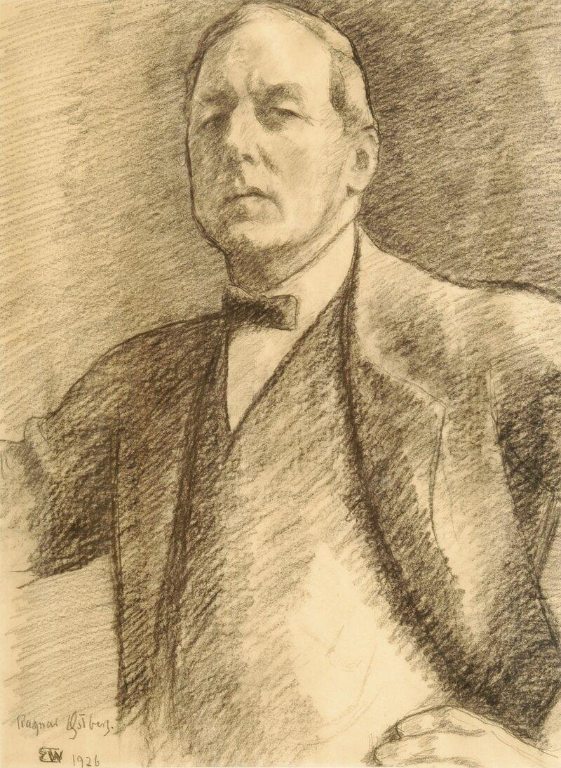 Portrett av Ragnar Østberg