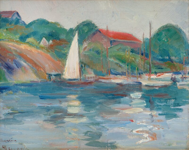 Fra Hovedøen 1921