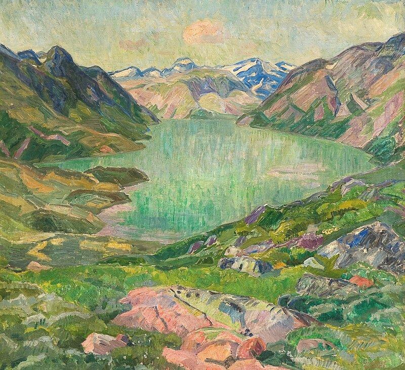 Fra Gjende 1916