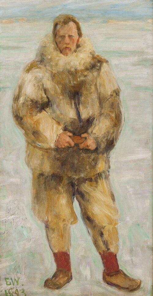 Nansen i skinnhyre 1893
