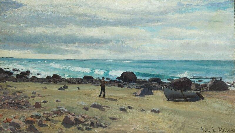 Kystlandskap, Jæren 1883