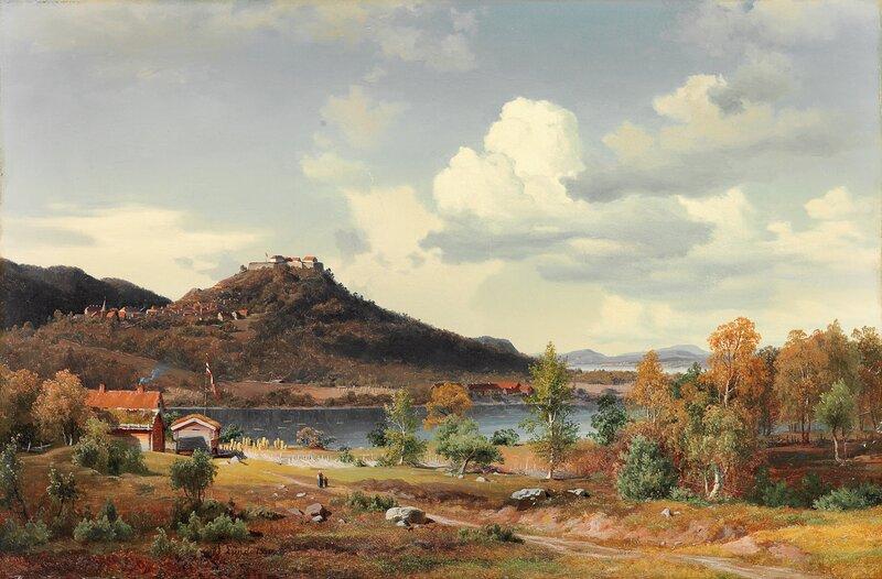 Kongsvinger festning 1850