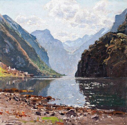 Fra Nærøyfjorden