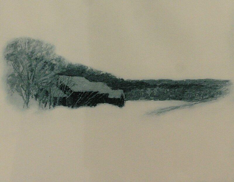 Vinter, Nesodden 1982