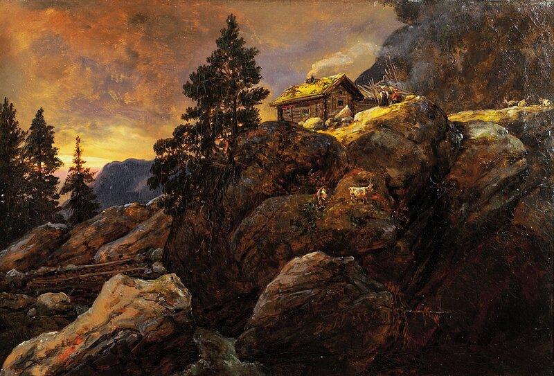 Fjellgård 1854