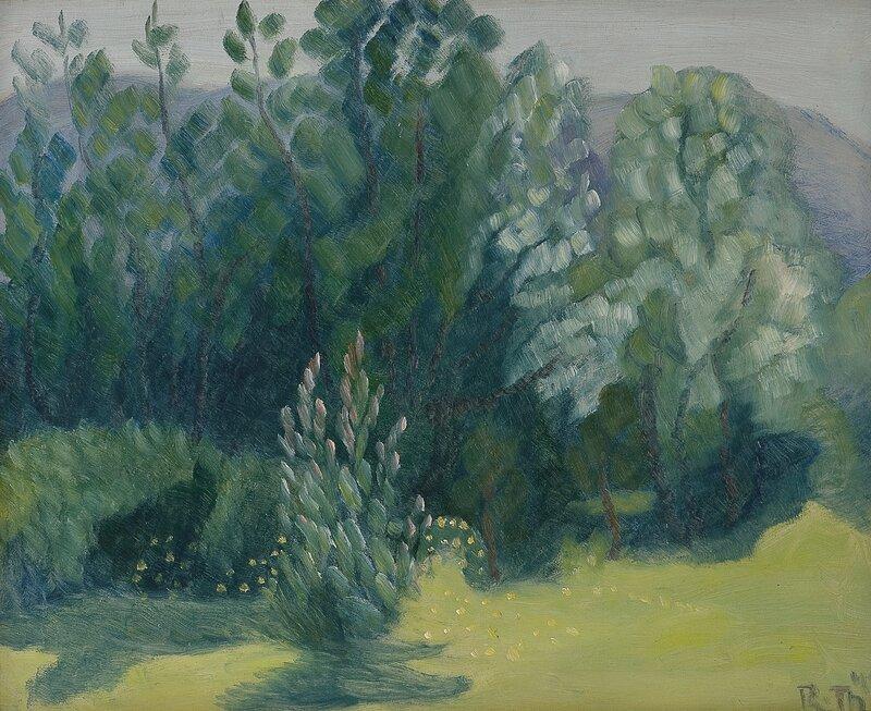 Løvtrær 1945