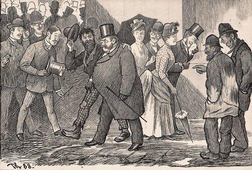 Et sjenerende ungdomsbekjentskap 1888