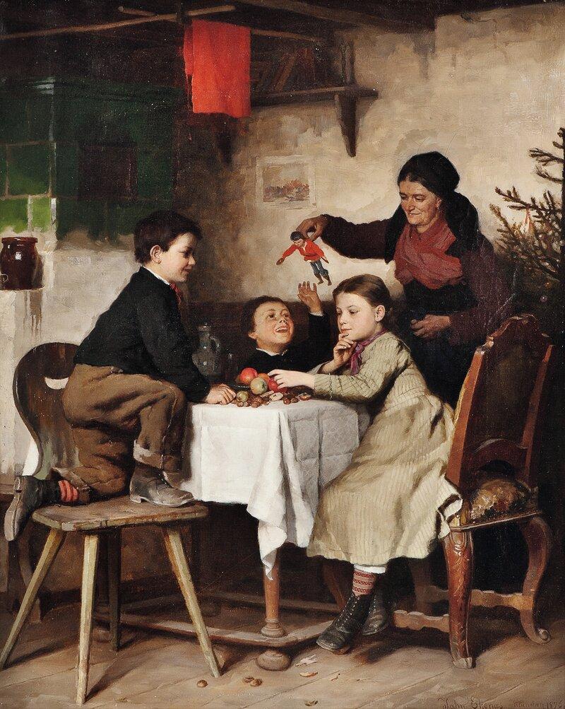 Juletrehøsting 1876