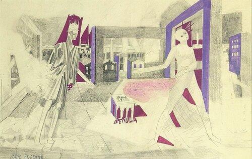 Kvinne og mann i fabrikklandskap