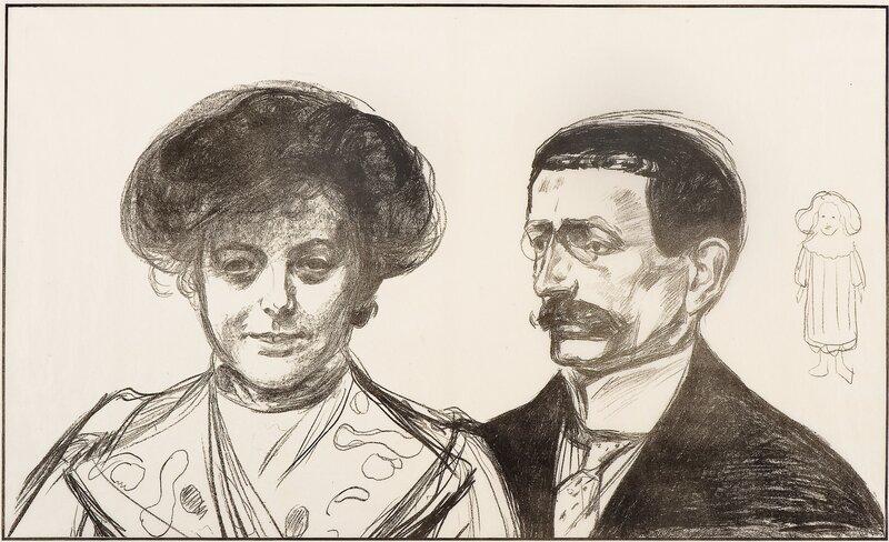 Anna og Walter Leistikow