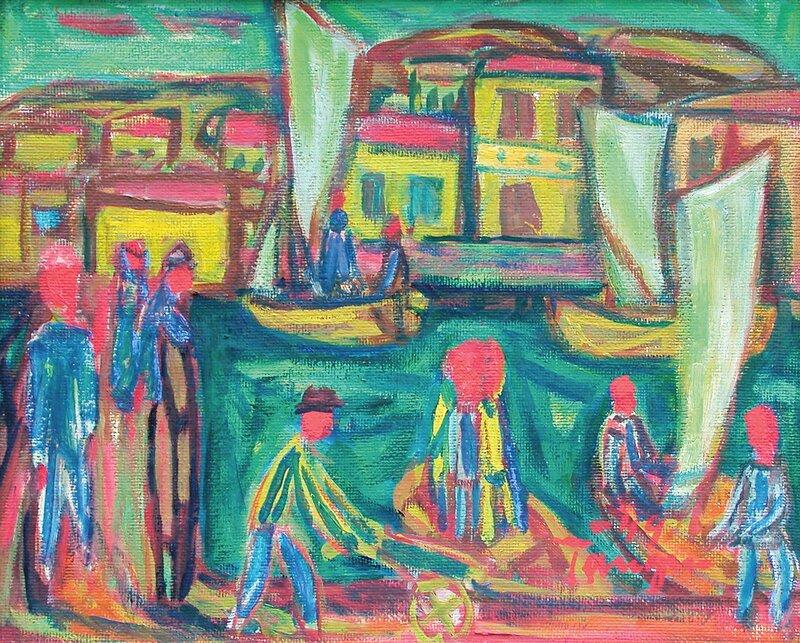 Fra Kragerø 1949