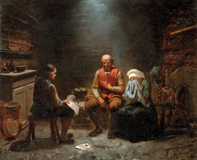 A message of Sorrow 1851