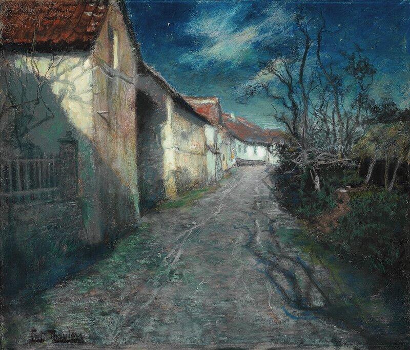 En gate i måneskinn