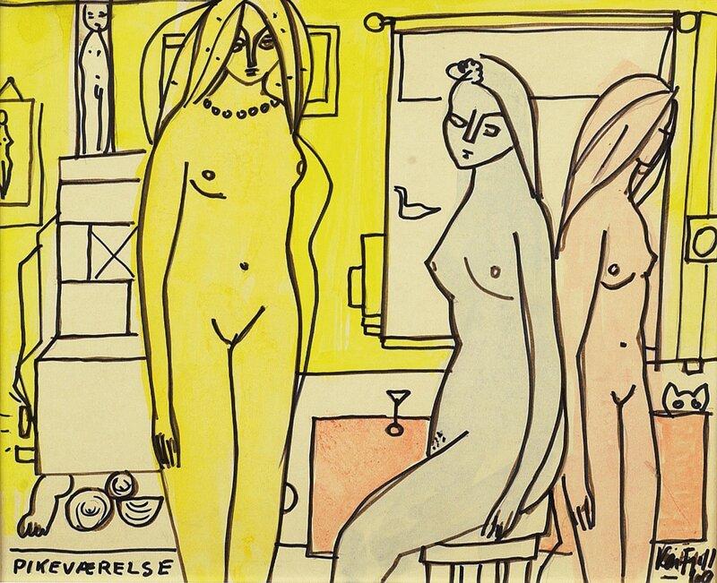 Pikeværelse 1969