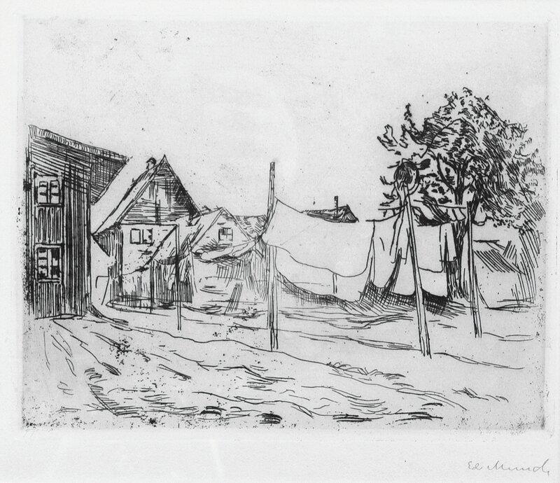 Tøytørk i Travemünde