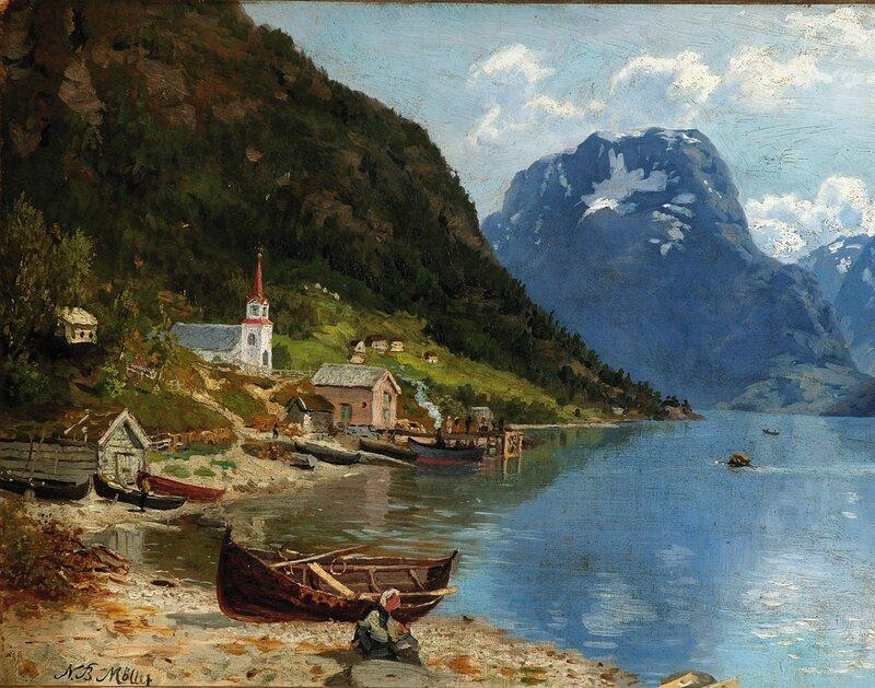 Kirkested i Vestlandsfjord