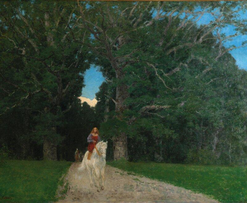 Prinsessen kommer ridende