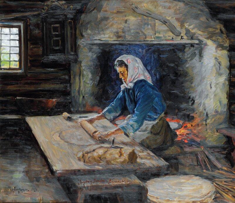 Bakstekone Ingeborg London, Breidablikk 1921