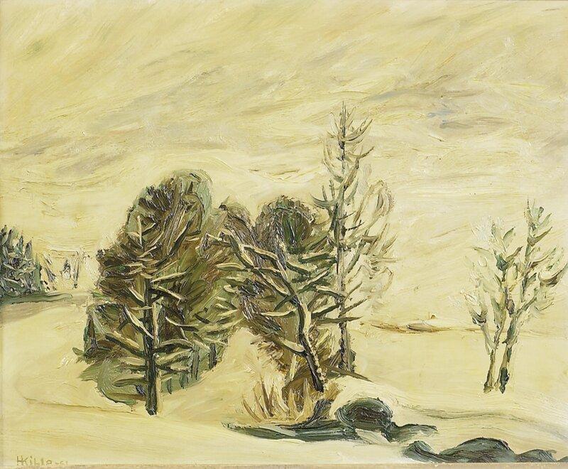 Marsvinter Hakadal 1951