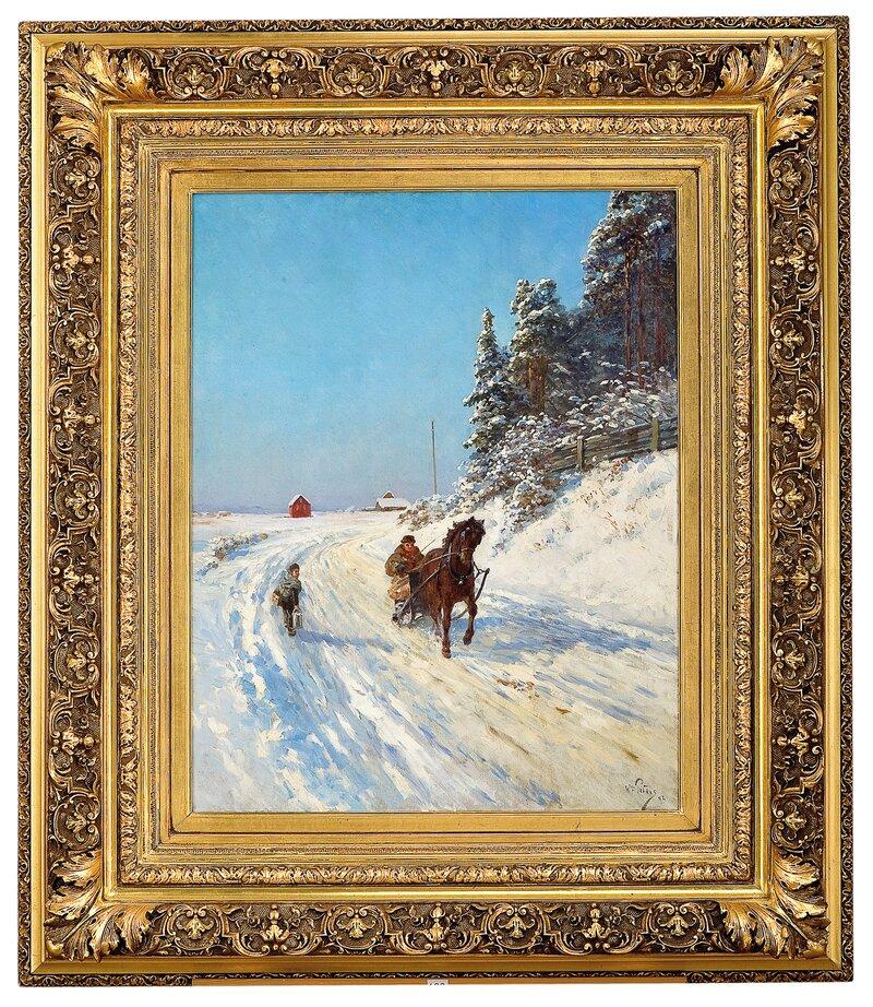 Sledekjøring 1898