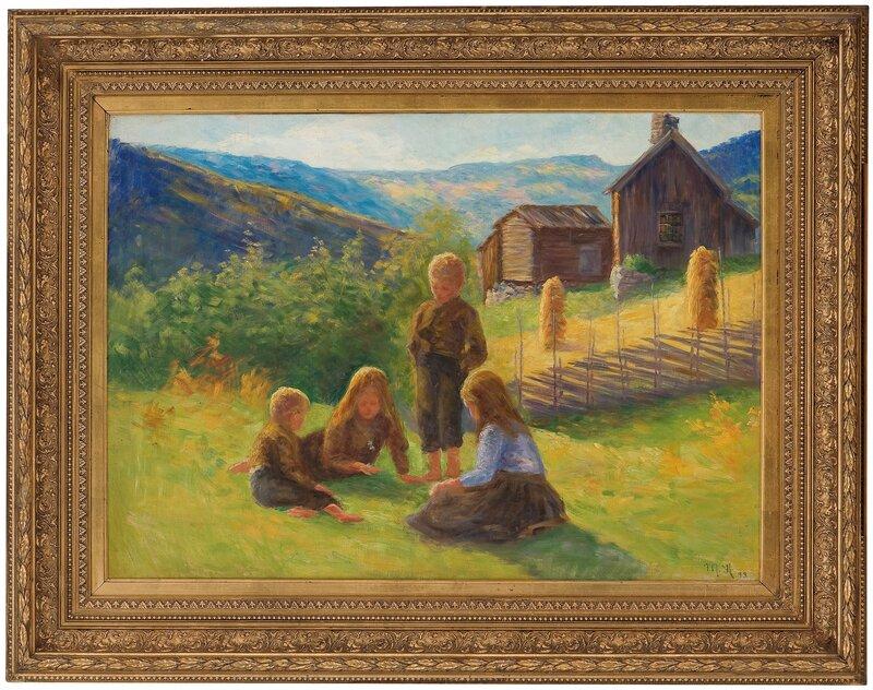 Playing Children 1893