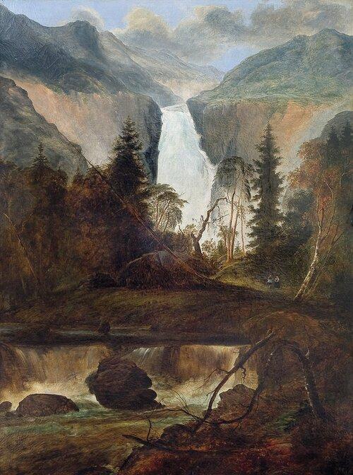 Rjukanfossen 1836