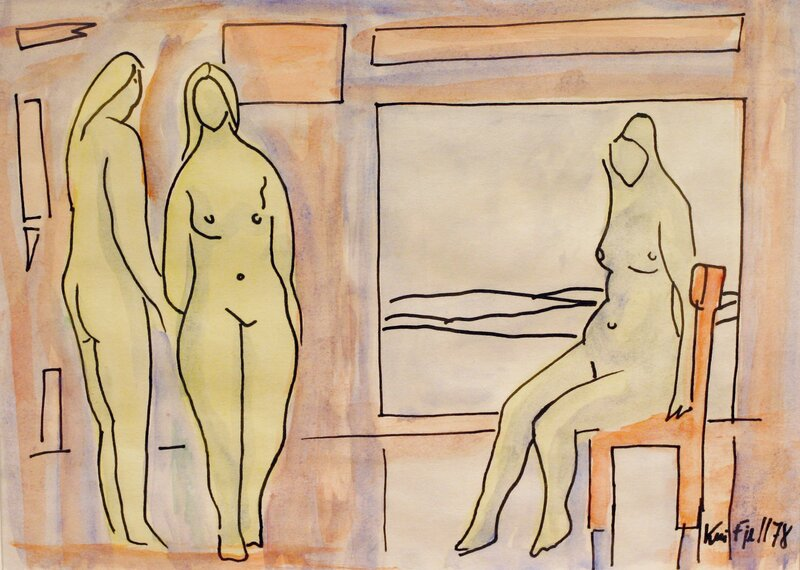 Kvinner i interiør 1978