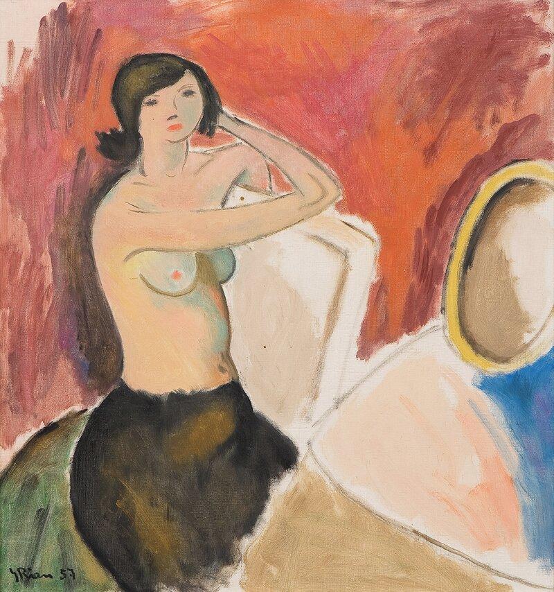 Toilette 1957
