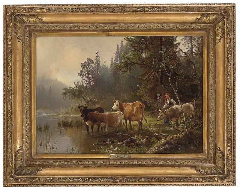Ved vanningsstedet 1871
