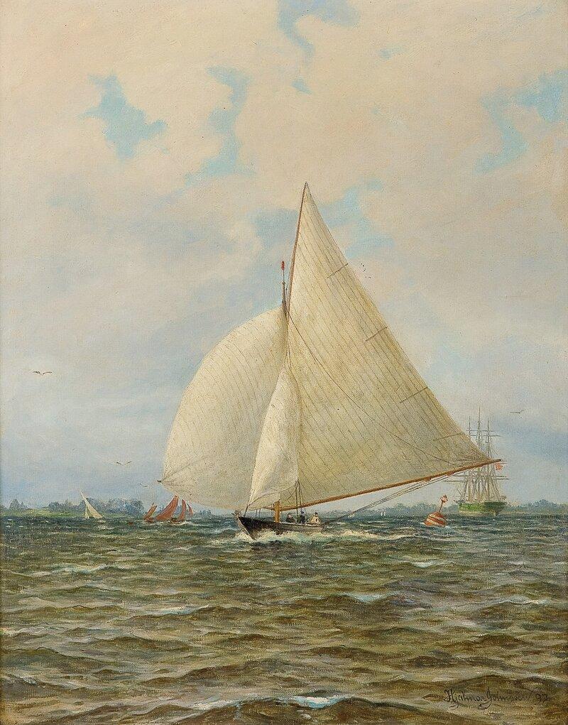 Engelsk race, Themsen 1897