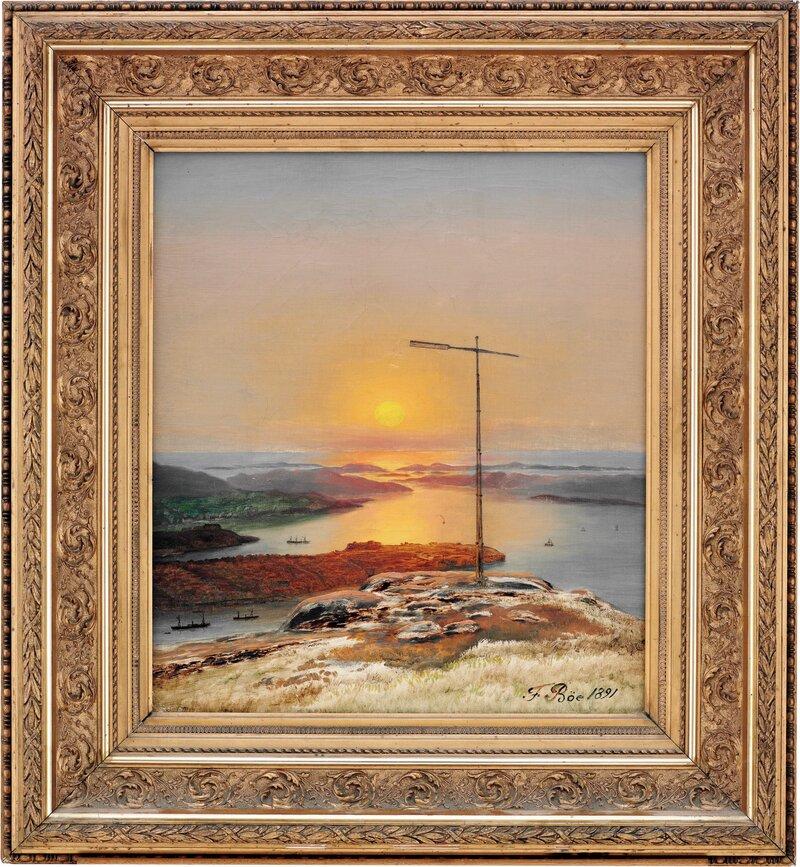 Sandviksfløyen i Bergen 1891