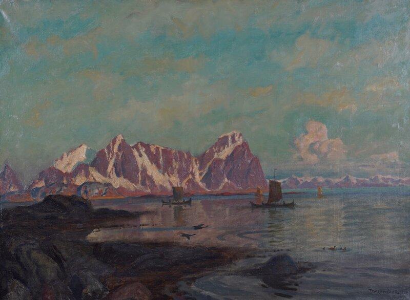 Kystlandskap, Nordland 1905