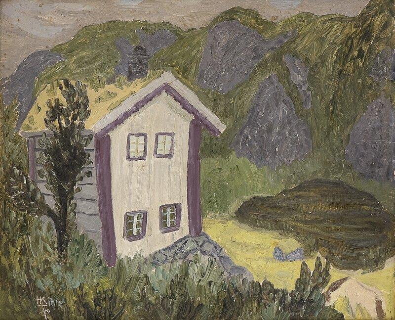 Regnvær i Urbø, Rauland i Telemark 1940
