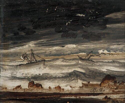 Båter i høy sjø