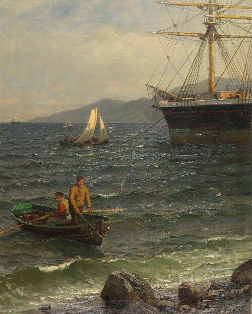Norsk havn 1886