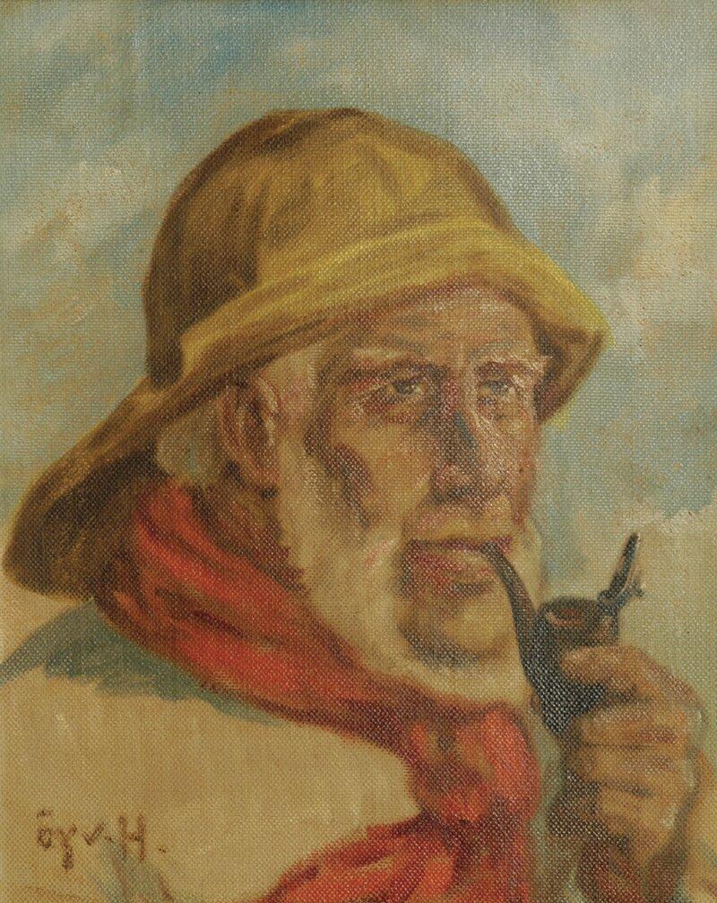 Sjømann med pipe