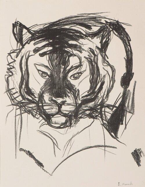 Tiger\'s Head I
