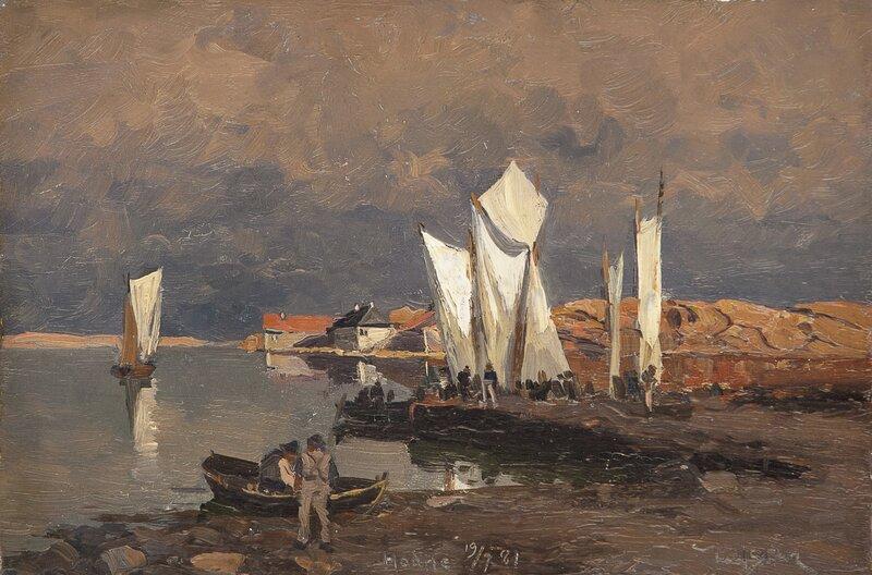 Fra Eikvåg 1881