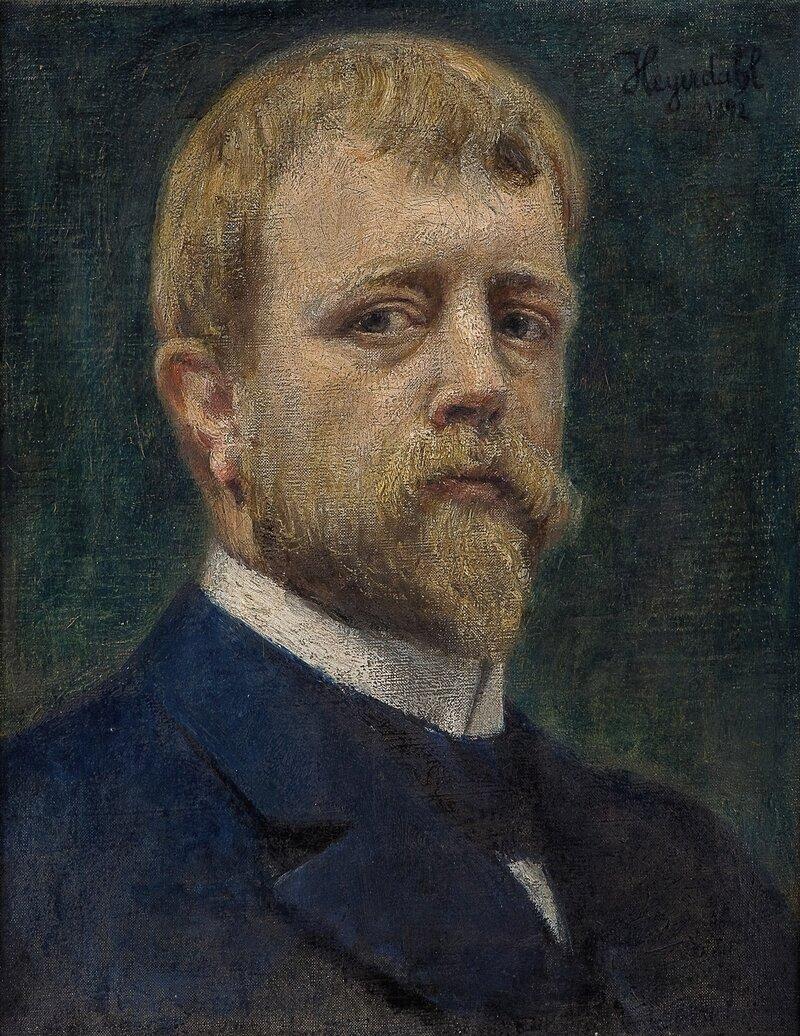 Selvportrett 1892