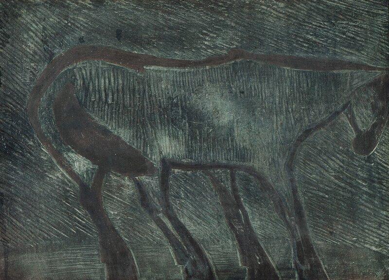 Hest i vind